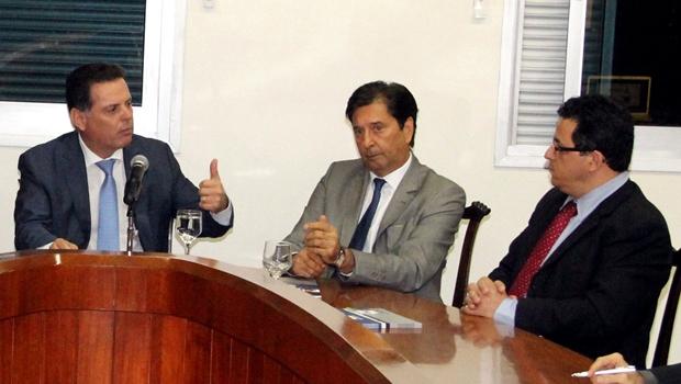 Marconi e Maguito firmam parceria para consolidação de complexo industrial e alfandegário