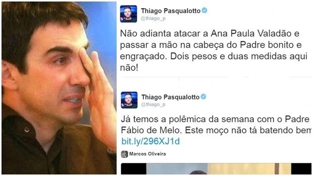 Padre Fábio de Melo é acusado de culpar mulheres por violência doméstica