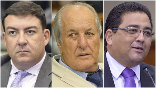 José Vitti, Mané de Oliveira, Talles Barreto: tucanato no comando | Fotos: Y. Maeda e Marcos Kennedy