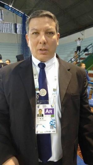 Leonardo Stacciarini, árbitro internacional de judô nível A: integrar quadro da competição nos Jogos do Rio é recompensa por 32 anos de dedicação ao esporte | Foto: Divulgação
