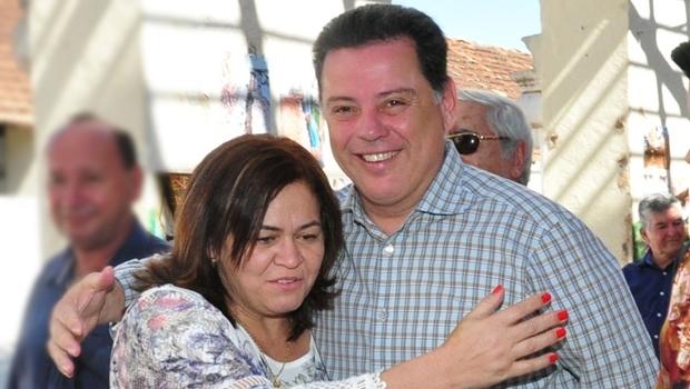 Prefeita Selma Bastos e Governador Marconi Perillo | Foto: governo de Goiás