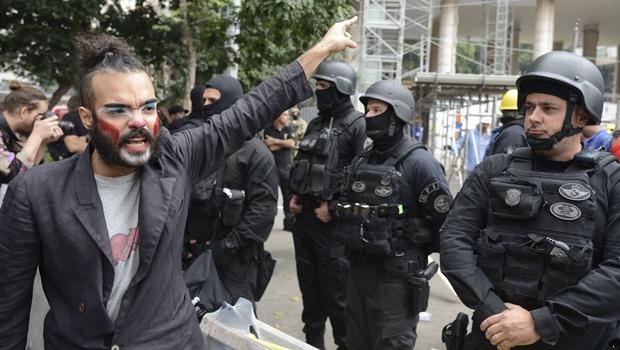 Manifestantes afirmam que continuarão com ocupação| Foto: Tomaz Silva/ Agência Brasil
