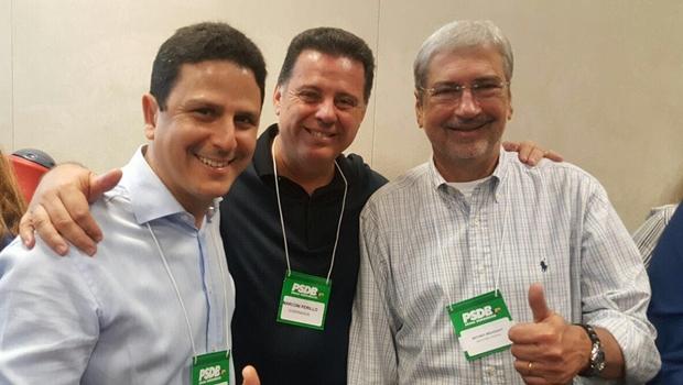 Imbassahy na equipe de Michel Temer fortalece o governador Marconi Perillo