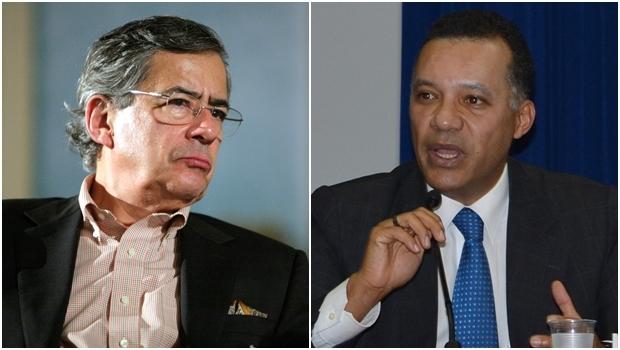 Jornalistas Paulo Henrique Amorim e Heraldo Pereira   Fotos: reprodução/ WikiCommons