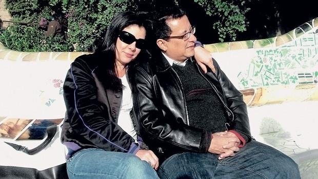 João Santana e a esposa | Foto: Arquivo pessoal