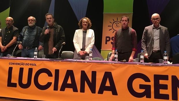 Convenção do Psol em Porto Alegre confirmou candidatura de Luciana Genro | Foto: Divulgação / Facebook