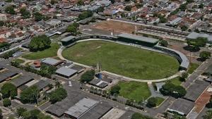 Na foto Vista aerea da Sede do Parque Agropecuario de Goiania Foto: Divulgaçao
