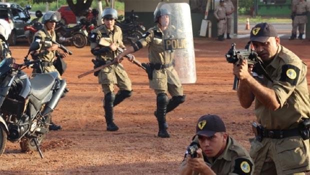 Segurança em Araguaína será  reforçada pela Força Tática Estadual