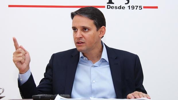 Thiago Peixoto diz que o prefeito Cristóvão Tormin permanece candidato à reeleição