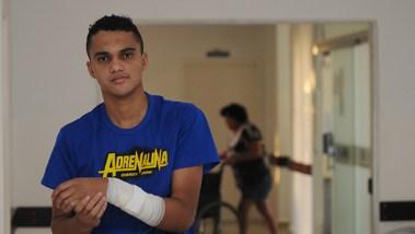 Morador de Senador Canedo, Thiago Amorim, diz nunca ter tido qualquer problema ao ser atendido na cidade | Foto: Renan Accioly