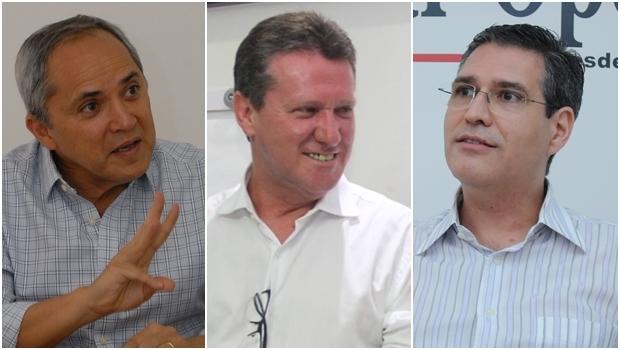 Bittencourt, Vecci e Francisco Jr. | Fotos: Jornal Opção