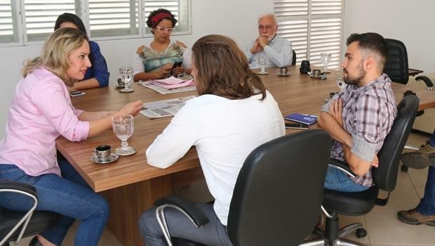 Repórteres do Jornal Opção entrevistam a candidata do PT