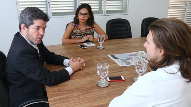 Repórteres do Jornal Opção entrevistam o candidato do PR