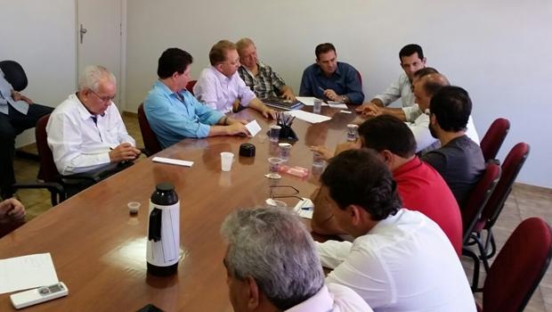 Vanderlan e Thiago se reúnem com Fórum Permanente dos Trabalhadores para o Desenvolvimento de Goiás