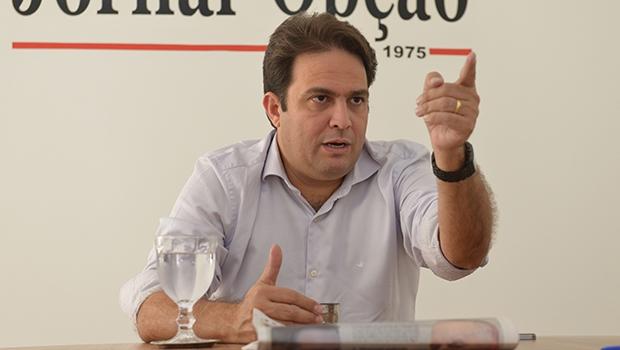 Roberto do Orion: sua aliança pode ser forte ou fraca, depende do PTB em Goiânia  Foto: André Costa