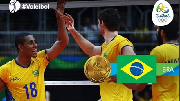 Brasil vence Itália no vôlei masculino e conquista terceiro ouro olímpico