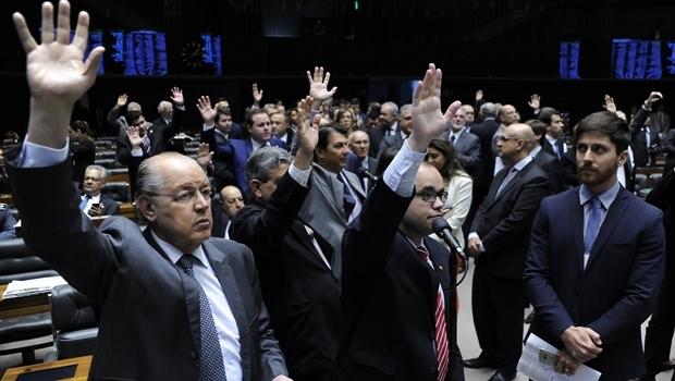 Após a sessão do Congresso, deputados realizam sessão da Câmara para votar oito medidas provisórias que trancam a pauta dos trabalhos   Lucio Bernardo Junior / Câmara dos Deputados