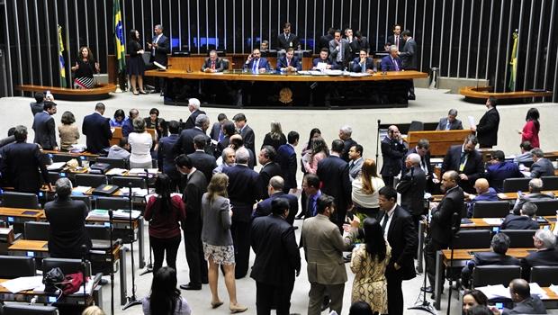 Deputados não chegaram a um acordo sobre o projeto na sessão desta terça-feira | Foto: Luis Macedo/Câmara dos Deputados