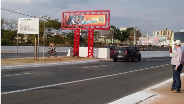 Prefeitura de Goiânia conclui ciclovia da T-63 e Cicloponte