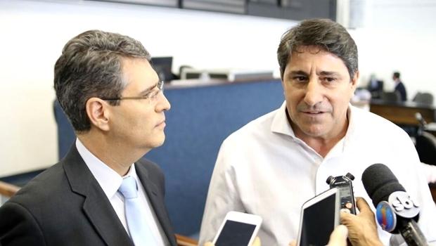 Francisco Jr. e Coronel Pacheco | Foto: Jackson Rodrigues