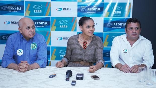 Marina Silva compareceu ao lançamento oficial da candidatura de Djalma Araújo | Foto: Divulgação