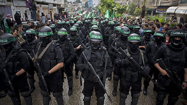 O Hamas mostra a sua cara