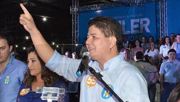 Heuler Cruvinel: o candidato do PSD lidera a pesquisa Serpes