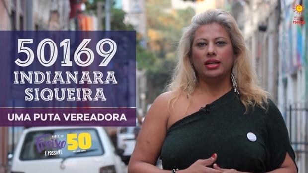 Indianara Siqueira é ativista da causa LGBT e candidata a vereadora pelo PSOL   Foto: Reprodução / Facebook