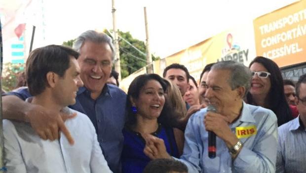 Ronaldo Caiado só abre mão de disputar o governo de Goiás se Iris Rezende for candidato