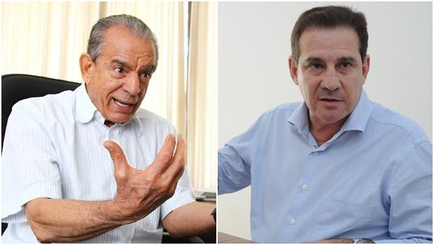 Iris Rezende e Vanderlan Cardoso: tendência é que disputem o segundo turno | Fotos: Fernando Leite e Renan Accioly/ Jornal Opção