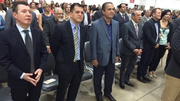 Jos├® Nelto, Agenor Mariano, Pastor Silas Malafaia, Iris Rezende e Major Ara├║jo
