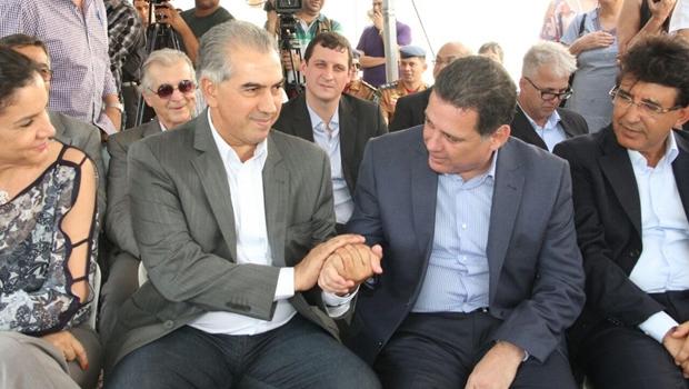 Marconi e Azambuja inauguram subestação da Celg GT em Campo Grande