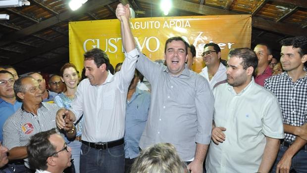 Gustavo Mendanha anuncia Veter Martins, do Solidariedade, como candidato a vice