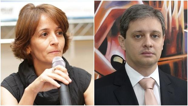 Vice-presidente e presidente do IGDP, Tatiana Aires e Hallan Rocha | Fotos: reprodução