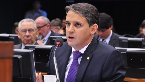 Thiago Peixoto discursa durante comissão | Foto: reprodução
