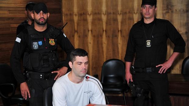 Tiago Henrique foi condenado a mais 26 anos de reclusão pelo homicídio de Beatriz Cristina Oliveira Moura | Foto: Hernany  Cesar/ TJGO