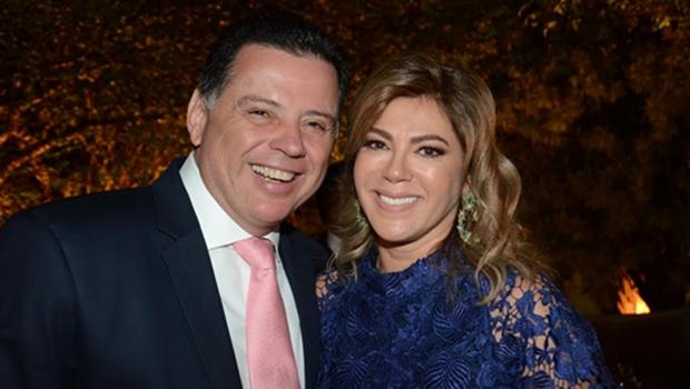 Marconi e Valéria abrem Palácio das Esmeraldas para evento beneficente