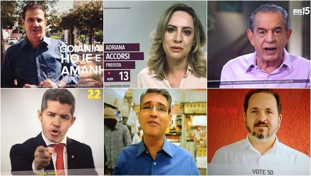 """Com pouco tempo na TV, candidatos """"correm"""" para se apresentar à população"""