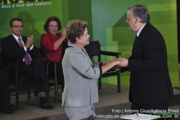 Dilma Rousseff e Ricardo Berzoini: aliados na ação para bloquear a CMPI da Petrobrás | Foto de Antônio Cruz/Agência Brasil