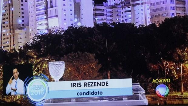 De última hora, Iris Rezende desiste de ir a debate da Record