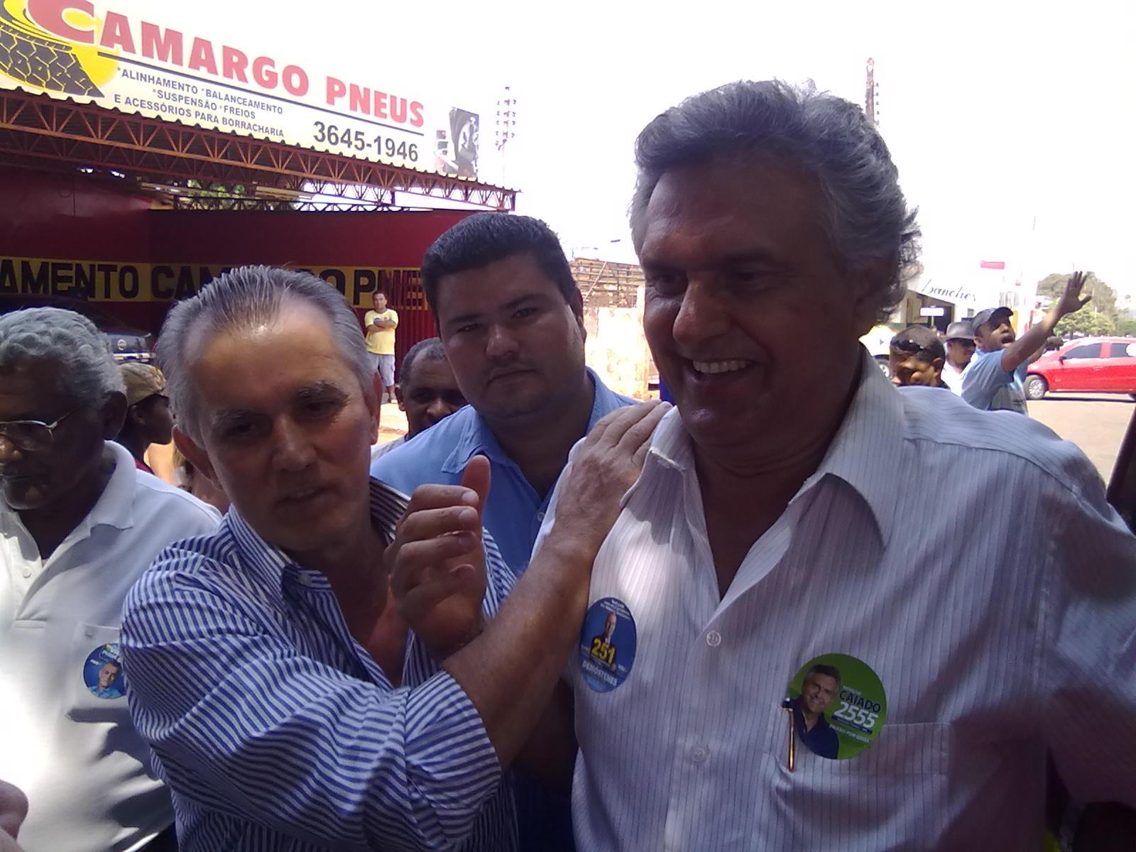 Ronaldo Caiado banca candidatos milionários em pelo menos três cidades: Minaçu, Uruaçu e Jataí