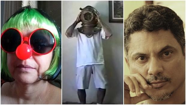 Oficineiros Alice Martins, Renato Cirino e Jamesson | Fotos: divulgação