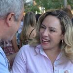 Adriana Accorsi em campanha | Foto: reprodução