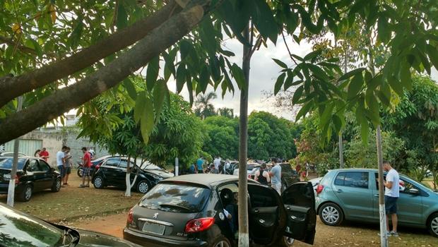 Movimentação no local aumentou desde que o jogo chegou a Goiânia | Foto: Reprodução