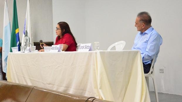 Debate foi realizado pelo Sindilojas de Catalão   Foto: Reprodução