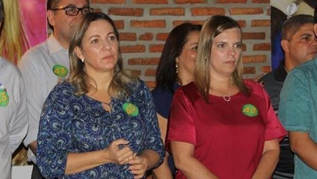 Em evento, deputada federal Dulce Miranda reforça apoio a Claudia Lelis