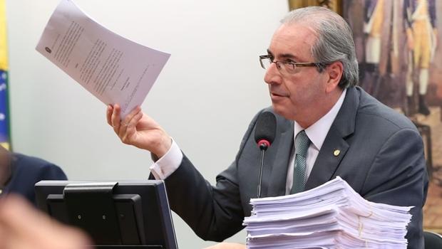 Cunha na Comissão de Ética: muitos documentos para o livro | Foto Lula Marques/Agência PT