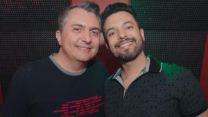 Fernando Carvalho e Patrick Costa, proprietários do The Pub