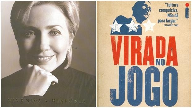 Dois livros contam um pouco das estripulias sexuais do ex-presidente Bill Clinton. O livro de Hillary Clinton é mais moderado, mas mostra sua irritação com as infidelidades do marido. Ele continua mulherendo