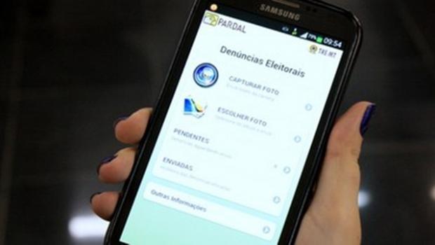 Aplicativo recebeu mais de 30 mil denúncias em todo o País | Foto: Reprodução / TRE